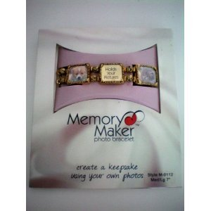 (Memory Maker photo bracelet -- create a keepsake using your own photos)
