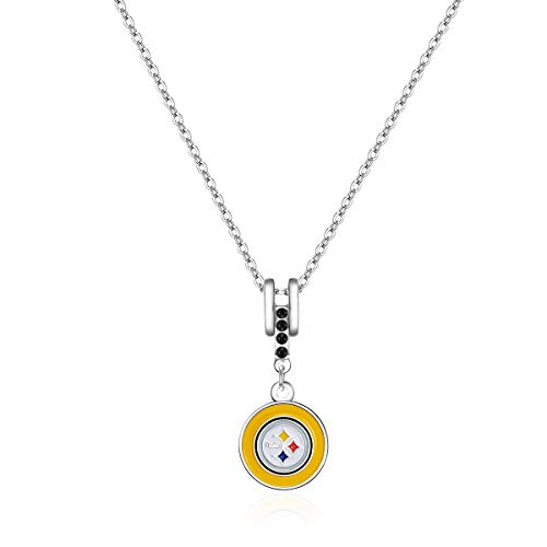 (Pro Specialties Group NFL Pittsburgh Steelers Charm Necklace)