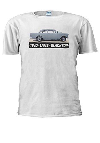 Two Lane Blacktop 1955 Chevy Hot Rod Cult 70's Film Men Women Unisex Top T - Lane Rod Hot