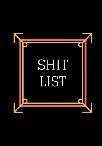 Download Shit List: Lined Notebook / Journal 7 x 10 pdf epub