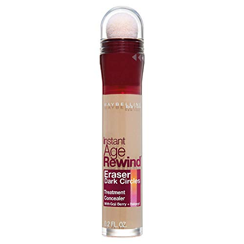 Maybelline New York Instant Age Rewind Eraser Dark Circles Treatment Concealer, Brightener, 0.2 fl. oz. ()