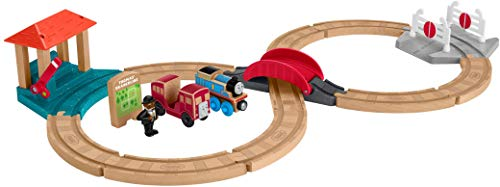 Thomas & Friends Fisher-Price Wood, Racing-8 Set