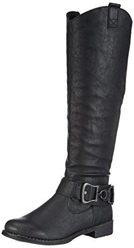 material 2 negro Marco sintético Schwarz Black negro Tozzi Antic 2 25505 para mujer Black Botas Antic de Schwarz qqw1BfAI