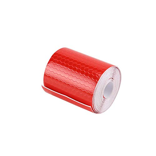 High Visibility Safety Warning Tape Reflector Safety Tape for Vehicles Cars Trailers Bikes Helmets Clothing 3m x 5cm 1 Pack, Red Reflective Tape SENRISE Reflective Tape Waterproof