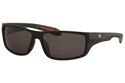 (Champion 6016 Sunglass 59 C01 MATTE BLACK)