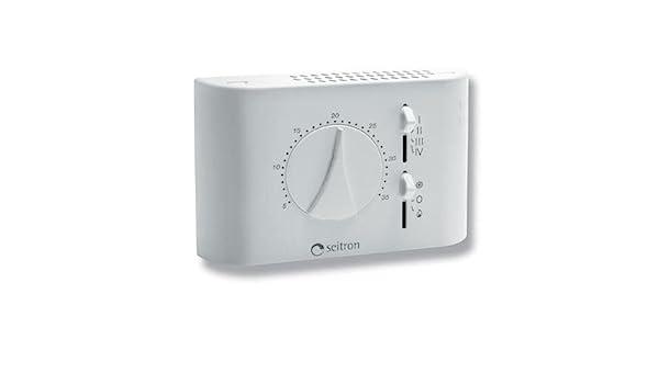 seitron Termostato para ventilconvettori fan-coil analógica tfa01 m: Amazon.es: Iluminación