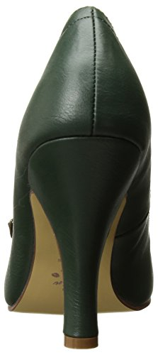 leather Pin green forest Couture faux Pinup 4w1RqCHBx1