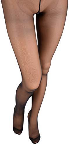 Katia 15 Den 3D Lycra Pantyhose Color: Nero - Black Size: Maxi (XX-Large) ()