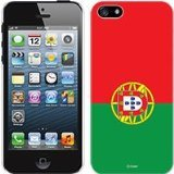 Cellet Proguard Case with Portugal Flag for Apple iPhone 5 - White
