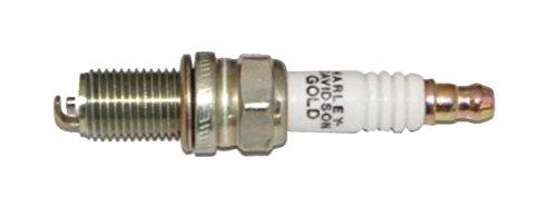 Harley-Davidson Gold Spark Plug, Special Thread & Shell Coating 32331-05 (Harley Davidson Shell)