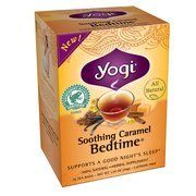 Yogi Soothing Caramel Bedtime Tea Bags, 16 count(Case of 2) For Sale