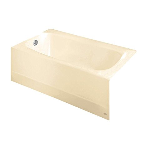Great Deal! American Standard 2460002.021 Cambridge 5' Bathtub with Left-Hand Drain, Bone