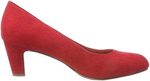 Rosso Donna Tacco Tamaris 22418 Lipstick con Scarpe wq6IvFTX