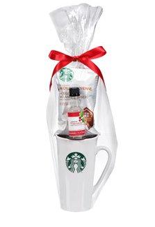 Starbucks Travel Mug Coffee And Flavoring Syrup Holiday Gift Set Kosher