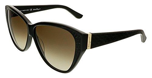 c5bfc9c2de Salvatore Ferragamo Women s SF711S Black Sunglasses - Buy Online in Oman.
