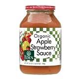 Eden Foods Applesauce Strwbry