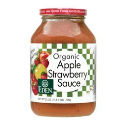 Eden Foods Applesauce Strwbry by Eden