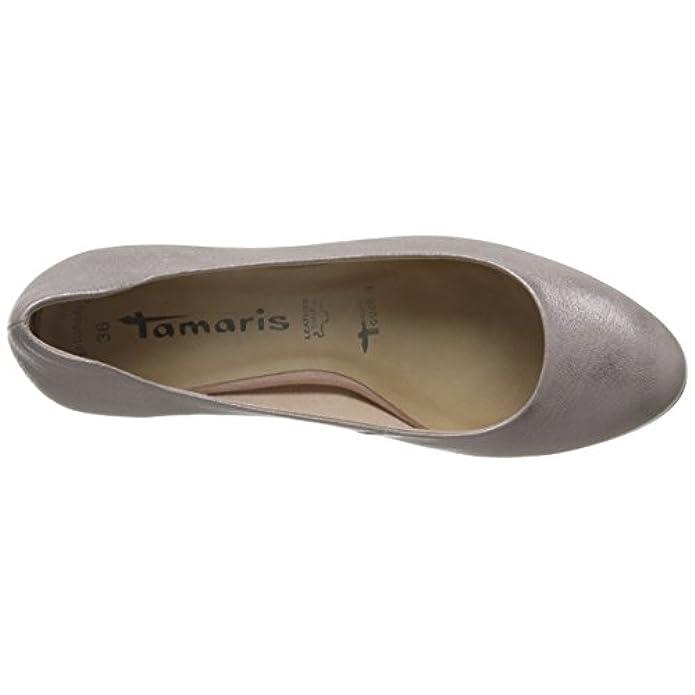 41 Tamaris Pompe Rosa 42 38 40 Metallici 37 39 Signore Pelle Tocco 1-22302-952