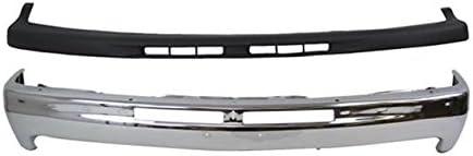1500 Tahoe TEXTURED BLACK GM1051103 Front BUMPER PAD for Chevy Silverado 2500