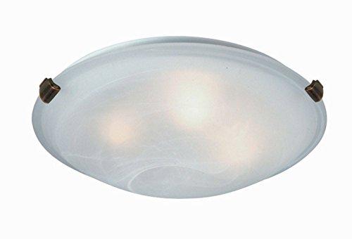 Brunito Flush Clip (Artcraft Lighting Clip Flush 4-Light Flush Mount, SP model Antique Brass)