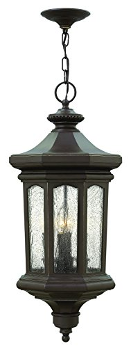 Hinkley 1602OZ Traditional Four Light Hanging Lantern from Raley collection in Bronze/Darkfinish, Raley Outdoor Lantern