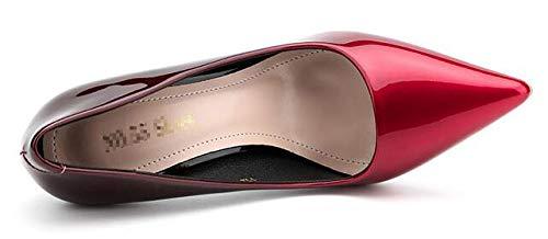 Renly 55 Rouge 1128 Red 5 Femme 1 36 Escarpins EU rrd7Ax