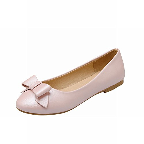 Bows Carolbar Lolita Cute Womens Pink Casual Shoes Dress Flats Lovely Sweet rrw5Aa