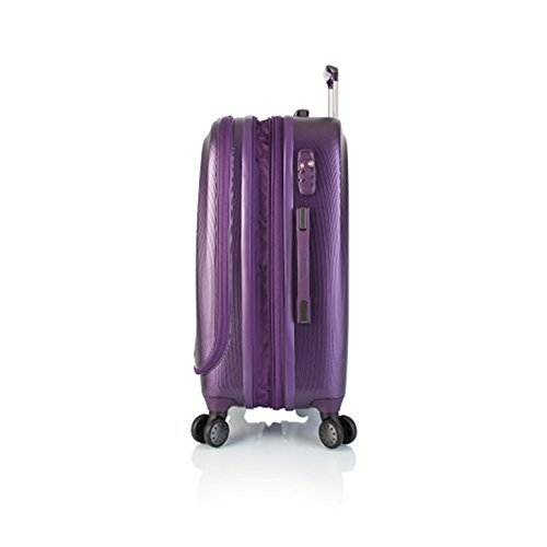 Heys - Crown Smart Gateway Schwarz Trolley mit 4 Rollen Klein