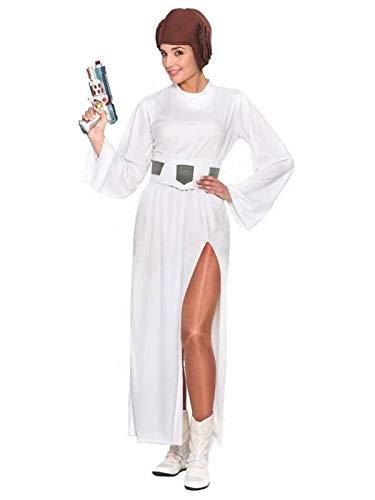 DISBACANAL Disfraz Princesa Leia Star Wars - Único, M