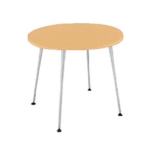 コクヨ(KOKUYO) ミーティングテーブル 円形 EAT IN(イートイン) Φ750×D750×H700mm LT-345 ナチュラル B07651Y379 ナチュラル ナチュラル