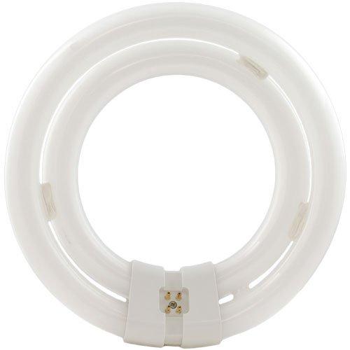 Satco S6508 3000K 40-Watt 4 Pin T9 2C Circline Lamp, Soft White ()