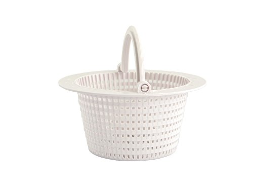 FibroPool Replacement Swimming Pool Skimmer Basket With Handle (Skimmer Basket)