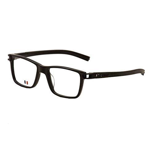 Tag Heuer Men's Track S Eyeglasses 7603 007 Black Full Rim Optical Frame ()