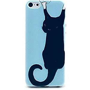 MOFY- escalada gatito caso del patr—n de la pared de negro para el iphone 6