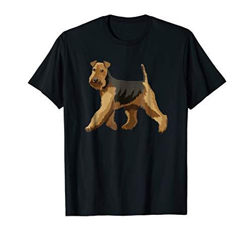 (Gifts for Welsh Terrier lovers dog pop art t shirt)