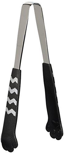 Tabletop Tongs catch Nyan black turf Cat 1214 by Tanabe bracket