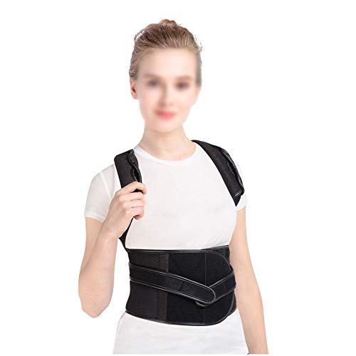 WYNZYHY Medical Belt, Lumbar Disc Lumbar Muscle Strain Male and Female Medical Posture Correction Clothing Hunchback Correction (Color : Aluminum Clause, Size : L) by WYNZYHY (Image #2)