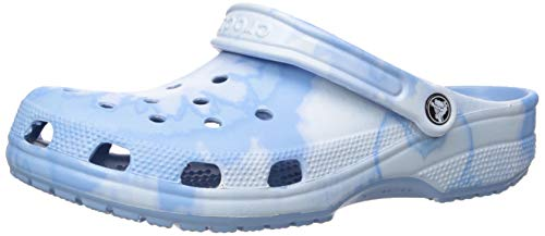 Crocs Mens and Womens Classic Tie Dye Graphic Clog | Comfort Slip On