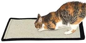 Fliyeong Pet Cat Scratching Pad Mat Board Natural Sisal Scratcher Post Pole Toy Practical and Useful Stylish and Practical
