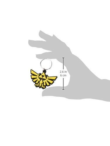 Key chain The Legend of Zelda - Llavero de Goma Triforce