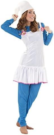 Juguetes Fantasia - Disfraz duende azul mujer adulto: Amazon.es ...