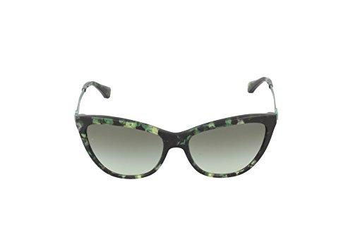 Emporio Armani Lunettes de soleil 4030 Pour Femme Black / Grey Gradient Noir (Green 52278e)