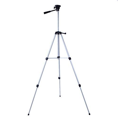 53'' Camera Tripod Mount Holder Stand for Logitech Webcam C925e C922x C922 C930e C930-Silver by AceTaken (Image #6)