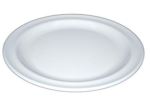 Z-Moments Vintage Western Melamine Round Plate Dinner Salad Platter, 9