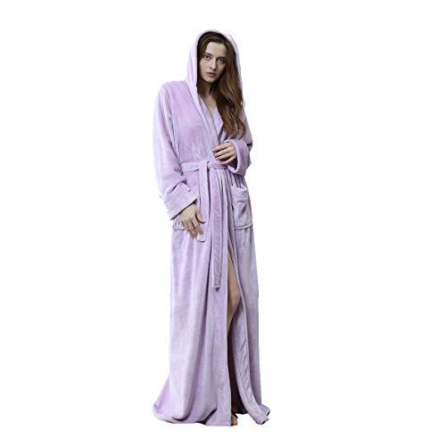 Cumpleaños La M Hombre Franela Unisex Microfibra Albornoz robe m Terry Baño Cinturón Con navybluefemale Xz De Ropa Xl Mujeres Bata Purplefemale Albornoces Toweling bata Disponible A wCIqTB