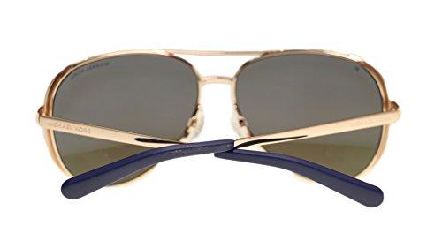 c6313ebdb8 Michael Kors MK5004 Chelsea Polarized Sunglasses Rose Gold w Purple ...
