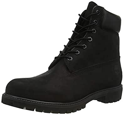 Timberland Australia 6 in Premium Boot Men's Boots, Black Nubuck, 9 US
