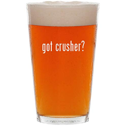 got crusher? - 16oz All Purpose Pint Beer Glass for sale  Delivered anywhere in USA