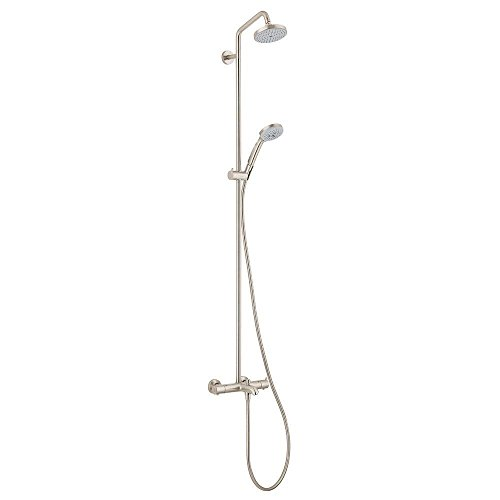 Hansgrohe 27143821 Showerpipe Tub/Shower, Brushed Nickel by Hansgrohe