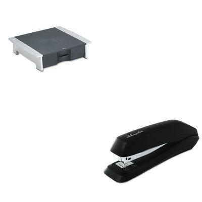 KITFEL8032601SWI54501 - Value Kit - Fellowes Printer/Fax Machine Stand (FEL8032601) and Swingline Standard Strip Desk Stapler (SWI54501)